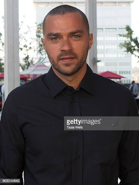 Actor Jesse Williams attends the opening night of 'Ma Rainey's Black Bottom' at Mark Taper Forum on September 11 2016 in Los Angeles California