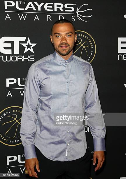 Actor Jesse Williams attends The Players' Awards presented by BET at the Rio Hotel Casino on July 19 2015 in Las Vegas Nevada
