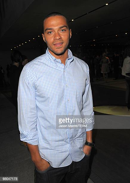 Actor Jesse Williams attends the Prada book launch cocktail held at Prada Rodeo Drive on November 13 2009 in Beverly Hills California