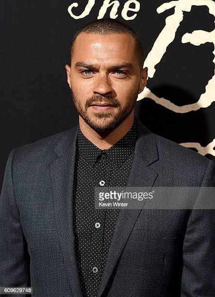 Actor Jesse Williams attends the premiere of Fox Searchlight Pictures' 'The Birth of a Nation' at ArcLight Cinemas Cinerama Dome on September 21 2016...