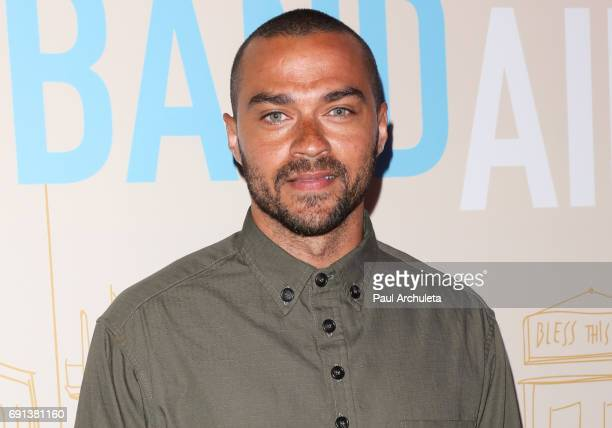 Actor Jesse Williams attends the premiere of IFC Films' 'Band Aid' at The Theatre at The Ace Hotel on May 30 2017 in Los Angeles California