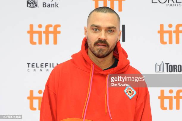 ACtor Jesse Williams attends the Quincy Premiere at Princess of Wales Theatre on September 9 2018 in Toronto Canada