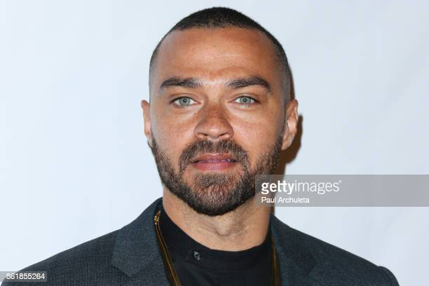 Actor Jesse Williams attends the Sunday matinee of Turn Me Loose at The Wallis Annenberg Center for the Performing Arts on October 15 2017 in Beverly...