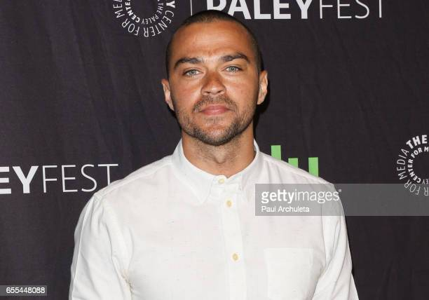 Actor Jesse Williams attends the The Paley Center For Media's 34th Annual PaleyFest Los Angeles Grey's Anatomy at Dolby Theatre on March 19 2017 in...