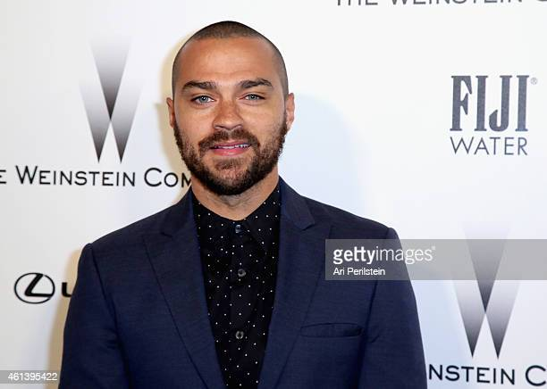 Actor Jesse Williams attends The Weinstein Company Netflix's 2015 Golden Globes After Party presented by FIJI Water Lexus Laura Mercier and Marie...