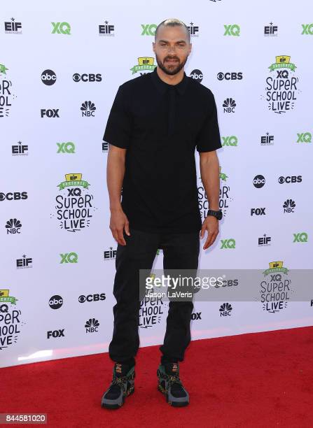 Actor Jesse Williams attends XQ Super School Live at The Barker Hanger on September 8 2017 in Santa Monica California