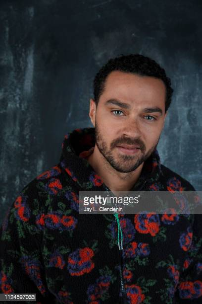 Actor Jesse Williams from 'Selah and the Spades' is photographed for Los Angeles Times on January 27 2019 at the 2019 Sundance Film Festival in Salt...