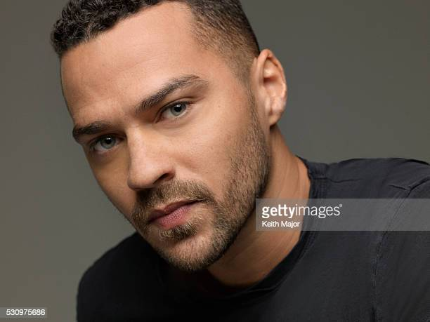 Actor Jesse Williams is photographed for Ebony Magazine on July 22 2015 in New York City