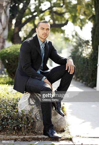 Actor Jesse Williams poses for a portrait session on January 31 Los Angeles CA