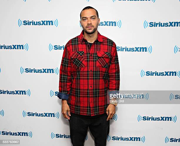 Actor Jesse Williams visits the SiriusXM Studio on May 23 2016 in New York City