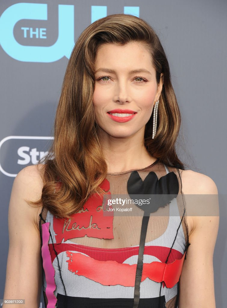 Actor Jessica Biel attends The 23rd Annual Critics' Choice Awards at Barker Hangar on January 11, 2018 in Santa Monica, California.