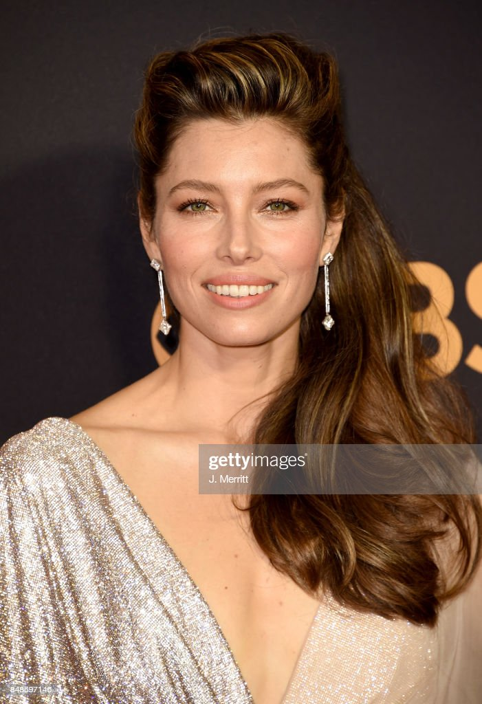 Actor Jessica Biel attends the 69th Annual Primetime Emmy Awards at Microsoft Theater on September 17, 2017 in Los Angeles, California.