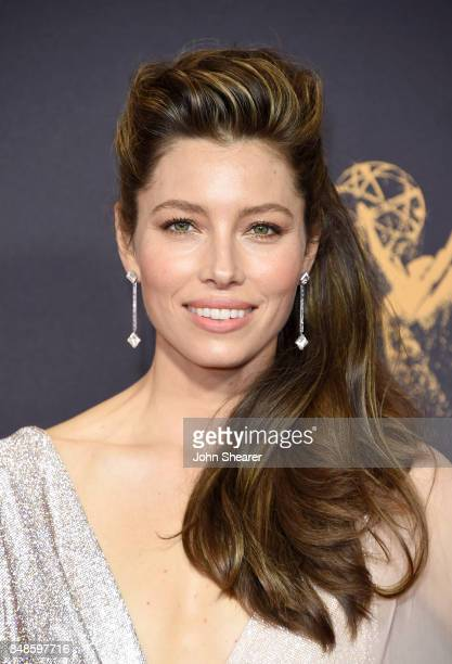 Actor Jessica Biel attends the 69th Annual Primetime Emmy Awards at Microsoft Theater on September 17 2017 in Los Angeles California
