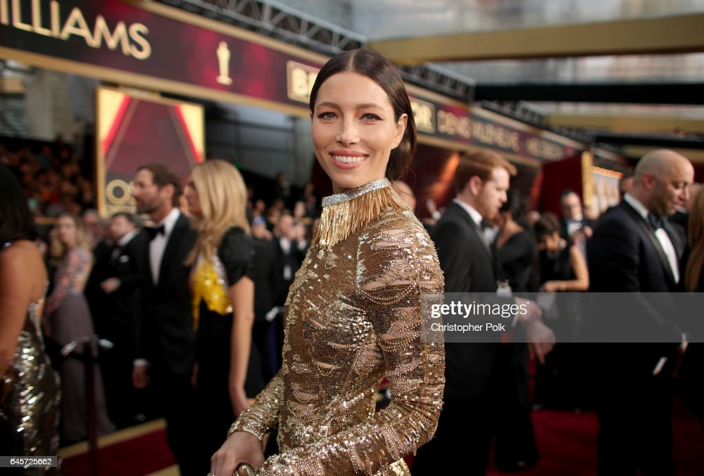 Actor Jessica Biel attends the 89th Annual Academy Awards at Hollywood & Highland Center on February 26, 2017 in Hollywood, California.