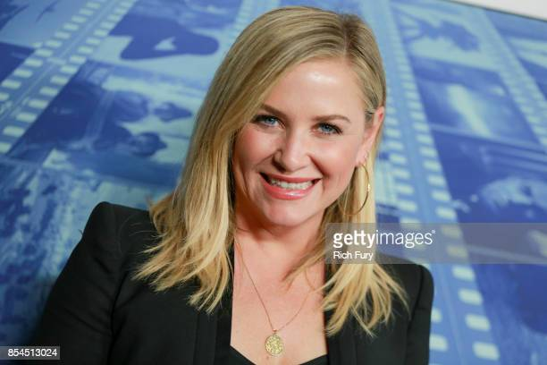 Actor Jessica Capshaw attends the premiere of HBO's 'Spielberg' at Paramount Studios on September 26 2017 in Hollywood California