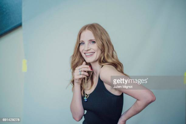 Actor Jessica Chastain is photographed for Grazia magazine on May 18 2017 in Cannes France