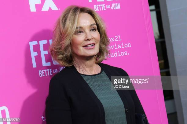 Actor Jessica Lange attends FX's 'Feud Bette And Joan' FYC event at The Wilshire Ebell Theatre on April 21 2017 in Los Angeles California