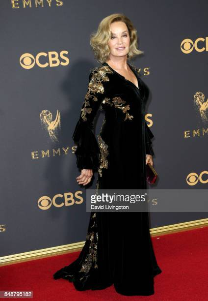Actor Jessica Lange attends the 69th Annual Primetime Emmy Awards Arrivals at Microsoft Theater on September 17 2017 in Los Angeles California