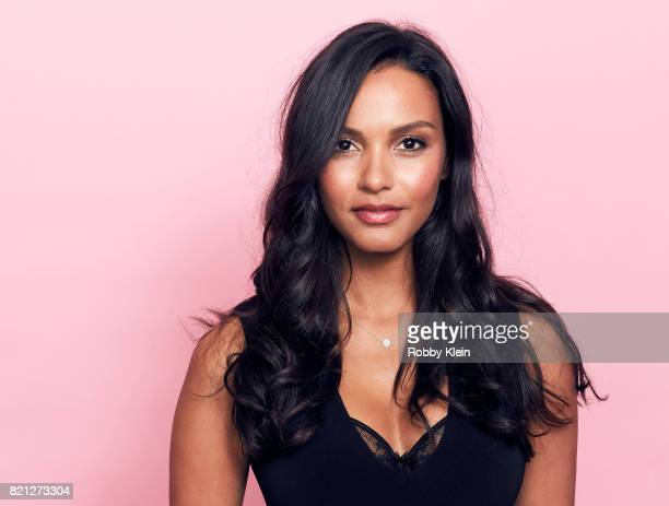 Actor Jessica Lucas from FOX's 'Gotham' poses for a portrait during ComicCon 2017 at Hard Rock Hotel San Diego on July 22 2017 in San Diego California