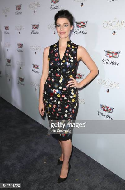 Actor Jessica Pare attends the Cadillac Oscar Week Celebration at Chateau Marmont on February 23 2017 in Los Angeles California