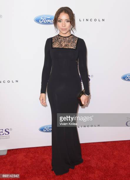 Actor Jessica Parker Kennedy attends the 42nd Annual Gracie Awards Gala hosted by The Alliance for Women in Media at the Beverly Wilshire Hotel on...