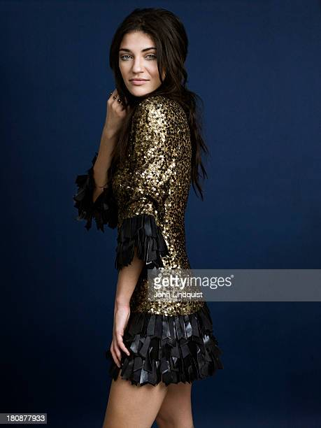 Actor Jessica Szohr is photographed for Asos magazine on September 26 2010 in London England