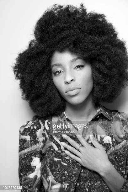 Actor Jessica Williams is photographed for The Hollywood Reporter on November 1 2017 in Los Angeles California