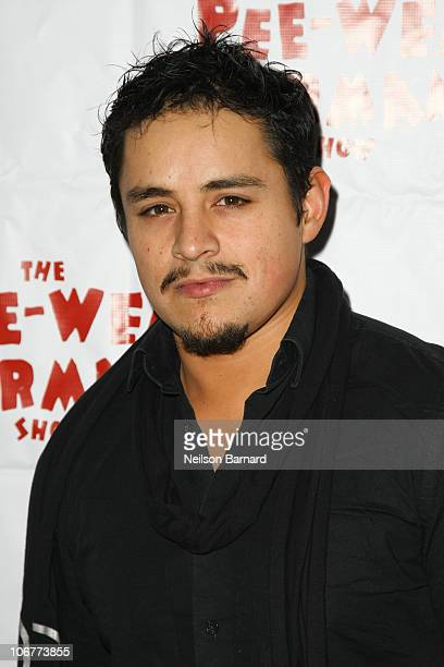 Actor Jessie Garcia attends the Broadway opening night after party of The PeeWee Herman Show at Bryant Park Grill on November 11 2010 in New York City