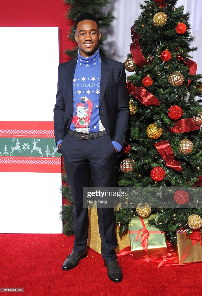 Almost Christmas Jessie Usher.Actor Jessie T Usher Attends The Premiere Of Universal S