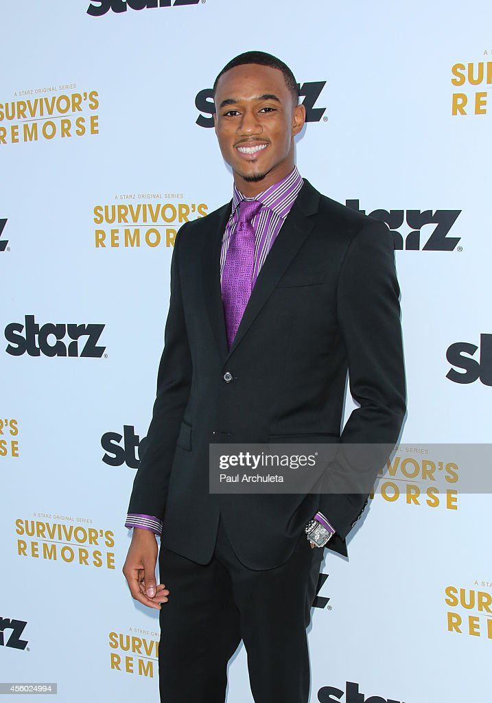 Actor Jessie T.Usher attends the STARZ new series 'Survivor's Remorse' premiere at the Wallis Annenberg Center for the Performing Arts on September 23, 2014 in Beverly Hills, California.