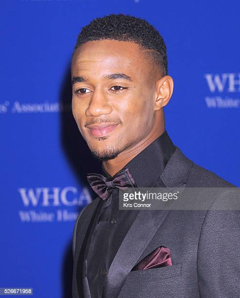 Actor Jessie Usher attends the 102nd White House Correspondents' Association Dinner on April 30 2016 in Washington DC