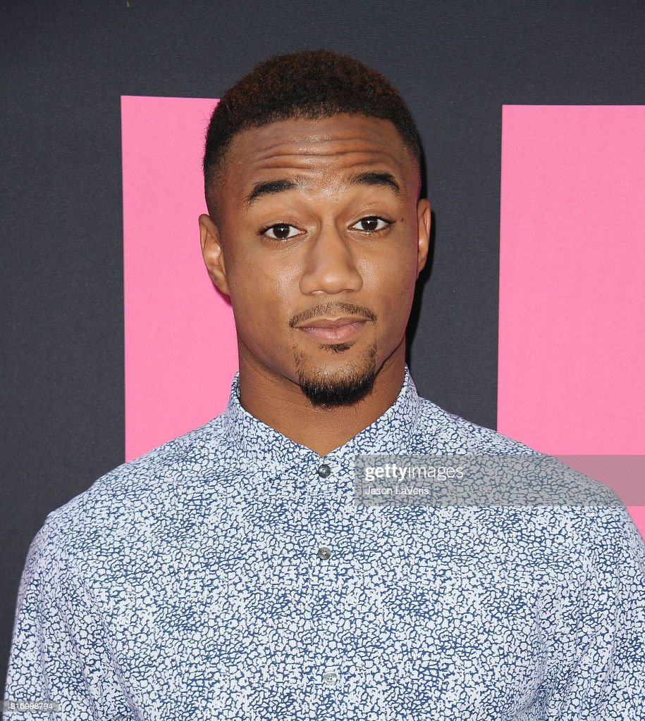 Actor Jessie Usher attends the premiere of 'Girls Trip' at Regal LA Live Stadium 14 on July 13, 2017 in Los Angeles, California.