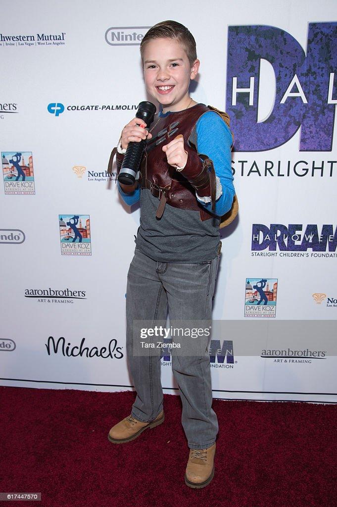 Actor Jet Jurgensmeyer attends Starlight's Dream Halloween 2016 on October 22, 2016 in Los Angeles, California.