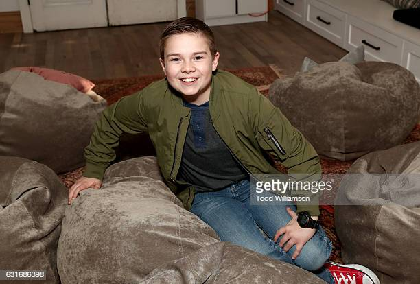 Actor Jet Jurgensmeyer attends the second season premiere of Amazon Original Series 'Just Add Magic' at Au Fudge on January 14 2017 in West Hollywood...