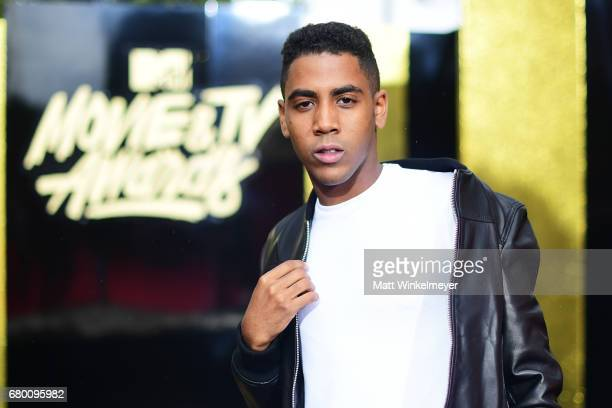 Actor Jharrel Jerome attends the 2017 MTV Movie And TV Awards at The Shrine Auditorium on May 7 2017 in Los Angeles California