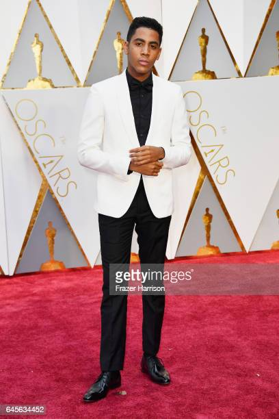 Actor Jharrel Jerome attends the 89th Annual Academy Awards at Hollywood Highland Center on February 26 2017 in Hollywood California