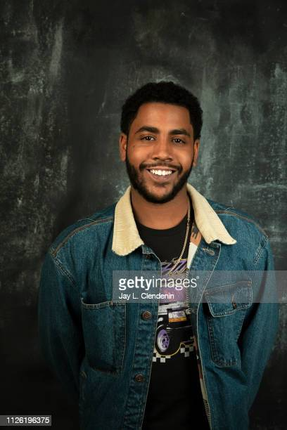 Actor Jharrel Jerome from 'Selah and The Spades' is photographed for Los Angeles Times on January 27 2019 at the 2019 Sundance Film Festival in Salt...
