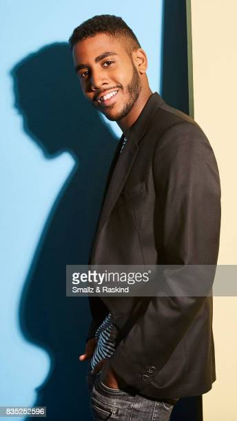 Actor Jharrel Jerome of Audience Network's 'MrMercedes' poses for a portrait during the 2017 Summer Television Critics Association Press Tour at The...