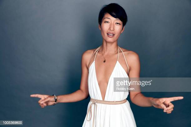 Actor Jihae of National Geographic's 'Mars' poses for a portrait during the 2018 Summer Television Critics Association Press Tour at The Beverly...