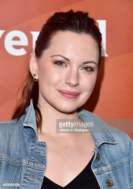 Actor Jill Flint of 'The Night Shift' attends the 2017 NBCUniversal Summer Press Day at The Beverly Hilton Hotel on March 20 2017 in Beverly Hills...