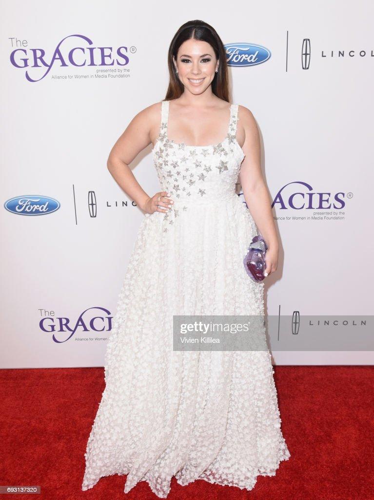 Actor Jillian Rose Reed attends the 42nd Annual Gracie Awards Gala, hosted by The Alliance for Women in Media at the Beverly Wilshire Hotel on June 6, 2017 in Beverly Hills, California.