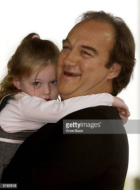 Actor Jim Belushi and daughter Jamison attend the ceremony posthumously honoring his brother actor/comedian John Belushi with a star on the Hollywood...