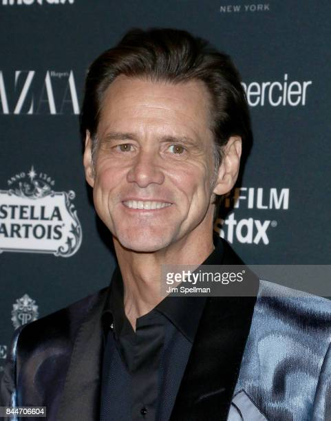 Actor Jim Carrey attends the 2017 Harper's Bazaar Icons at The Plaza Hotel on September 8 2017 in New York City