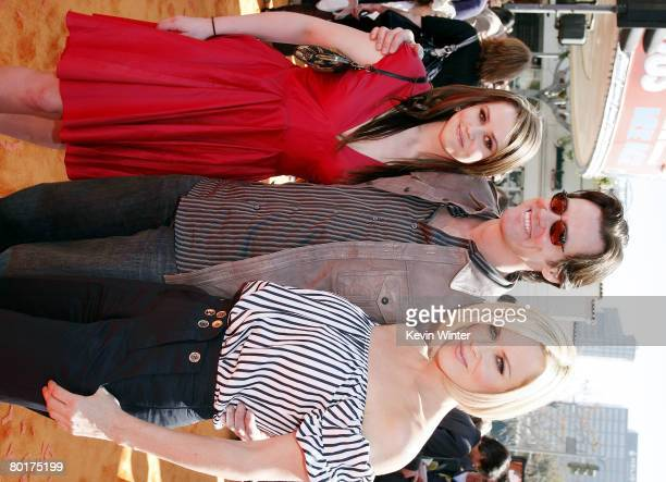 """Actor Jim Carrey , his daughter Jane and actress Jenny McCarthy arrive at the world premiere of 20th Century Fox's """"Horton Hears a Who!"""" at the Mann..."""
