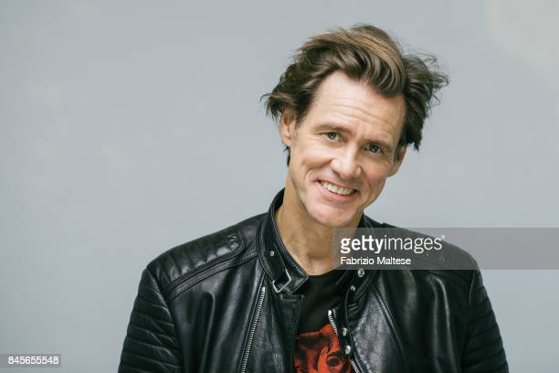 Actor Jim Carrey is photographed on September 5 2017 in Venice Italy