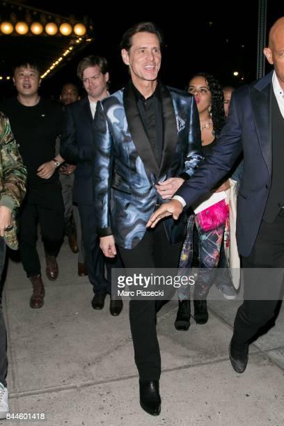 Actor Jim Carrey is seen in New York City