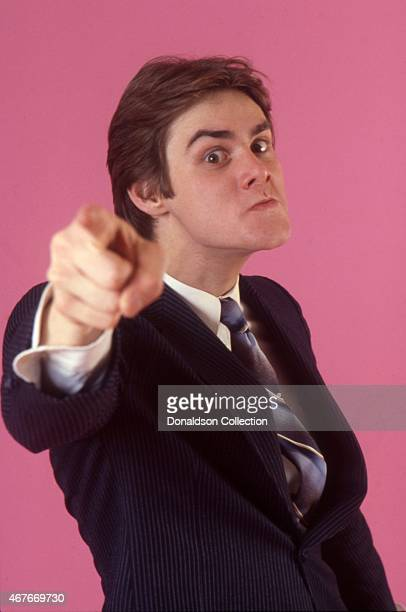 Actor Jim Carrey poses for a portrait session in circa 1992 in Los Angeles California