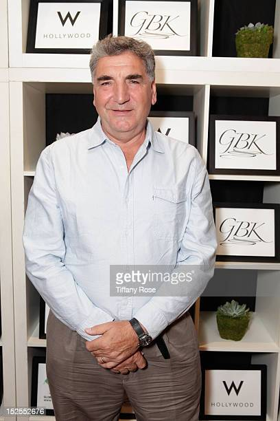 Actor Jim Carter attends the GBK Productions Luxury Lounge During Emmy's Weekend at W Hollywood on September 21 2012 in Hollywood California