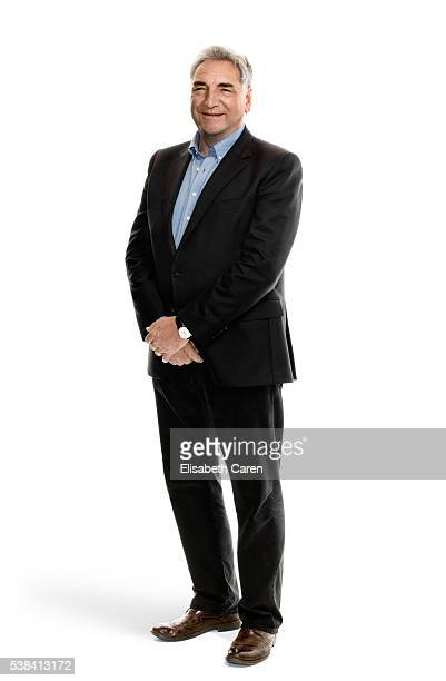 Actor Jim Carter is photographed for Emmy Magazine on December 15 2015 in Los Angeles California Photo by Elisabeth Caren/Contour by Getty Images