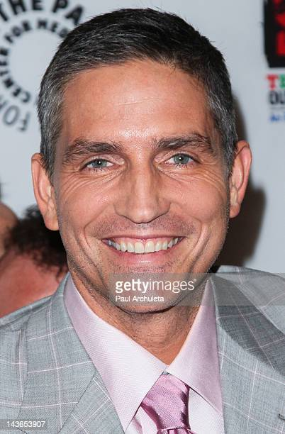 Actor Jim Caviezel attends an evening with Person Of Interest at The Paley Center for Media on May 1 2012 in Beverly Hills California